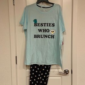 SO Light Blue Pajama Set